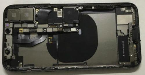 разобранный iPhone X