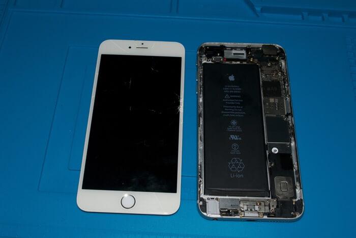 iPhone 6s Plus замена стекла