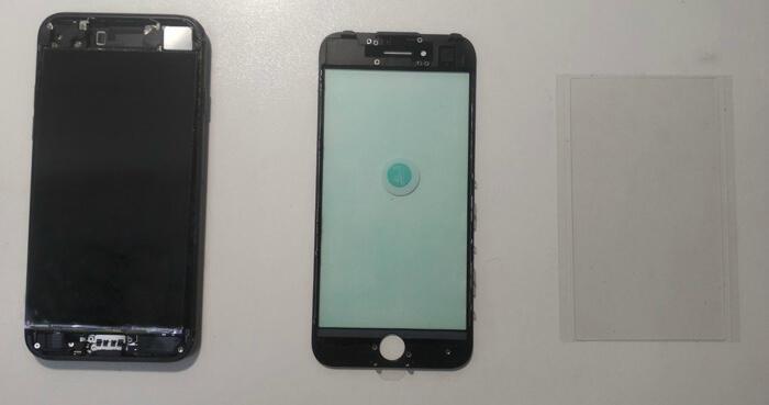 разобранный iPhone 7