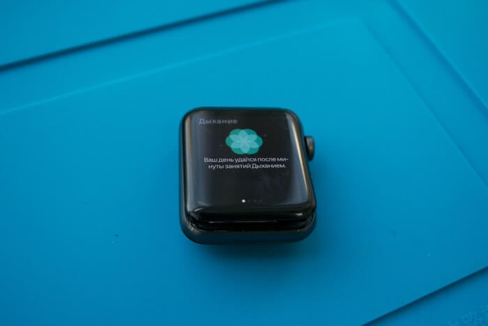 замена стекла Apple Watch Series 3