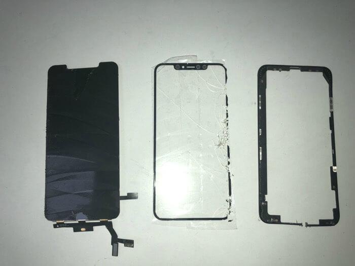 замена стекла на iPhone Xs Max