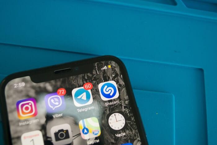 нет сети на iPhone X