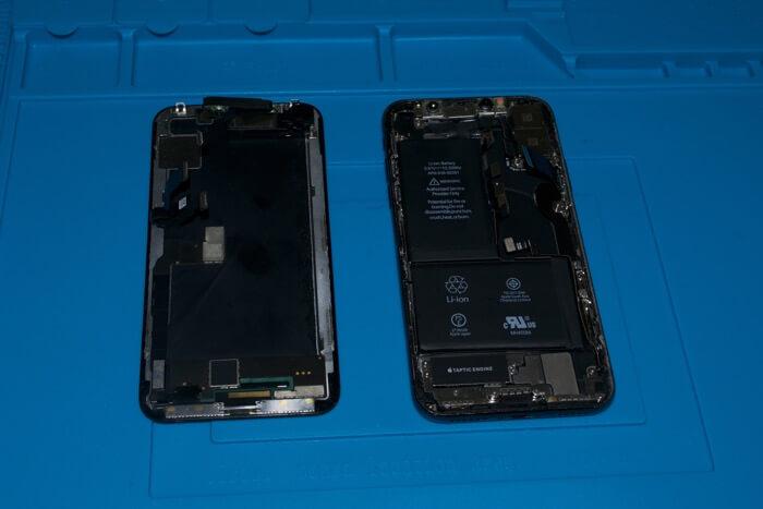 ремонт модема на iPhone X